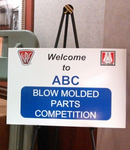 ABC Blow molded parts competition 2014