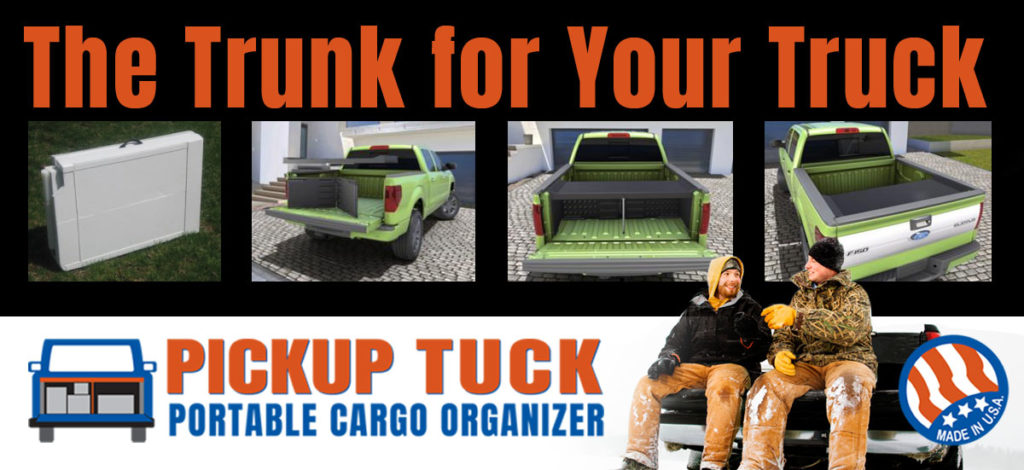 Pickup Tuck for ice fishing