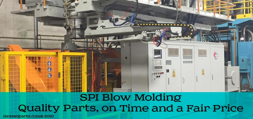 spi new blow molding machine